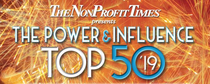 The 2019 NonProfitTimes Power & Influence Top 50